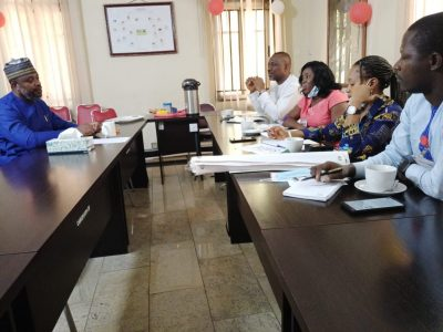 Nomination of Mr. Charles Usie, outgoing Country Director of Christian Aid, as a Male Champion on the SAGE project.