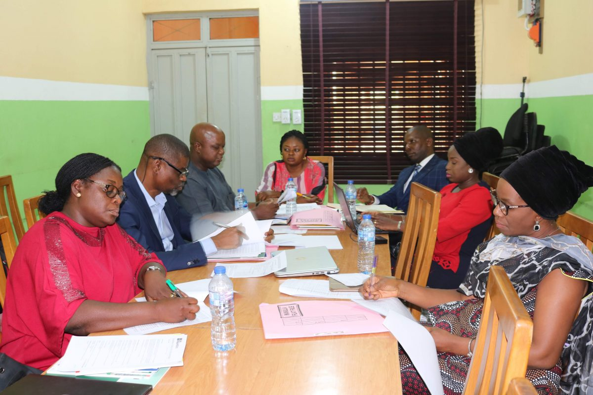 Board Meeting of Centre LSD Board of Trustees in February 2020
