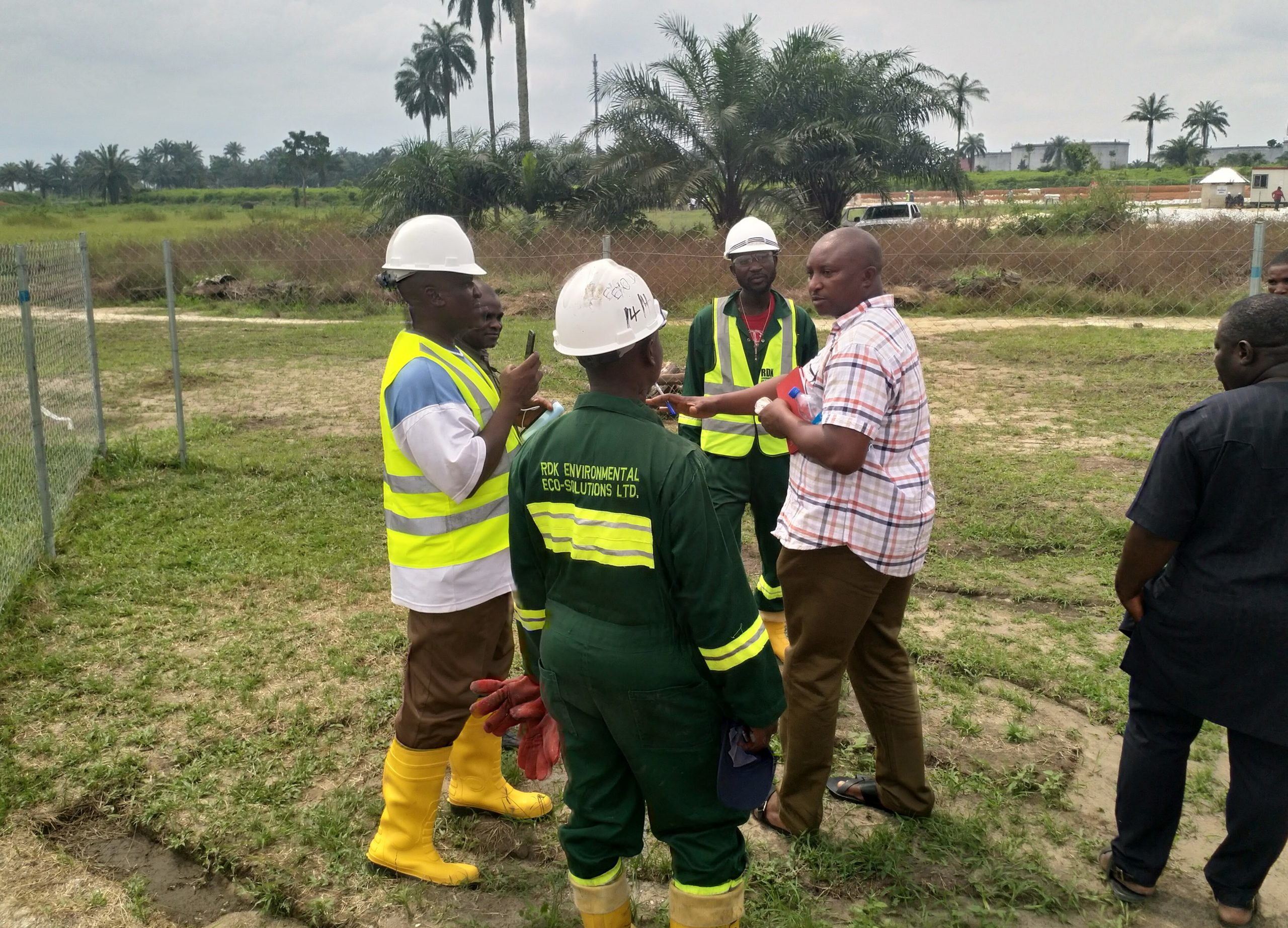 Mr Lawal Amodu_Centre LSD Environment Lead at Ogoniland clean up sites in Rivers state.jpg